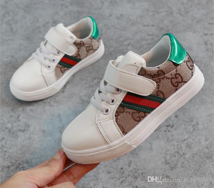 ddd580d45834d Compre Primavera Verano GUCCI Llega El Diseñador De Moda Zapatos Para Niños  Zapatos De Estilo Casual Para Niños Zapatos De Costura De Corea Del Patrón  De ...