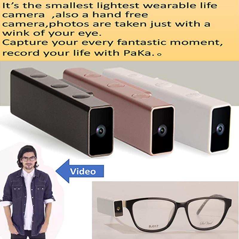 af46bb9a39 Eye Blink Control Camera 8.0MP 1080P 16G Wifi Smart Glasess Recorder Take  Photo with Wink For Holiday Business Festival Gifts Video Glasses Cheap  Video ...