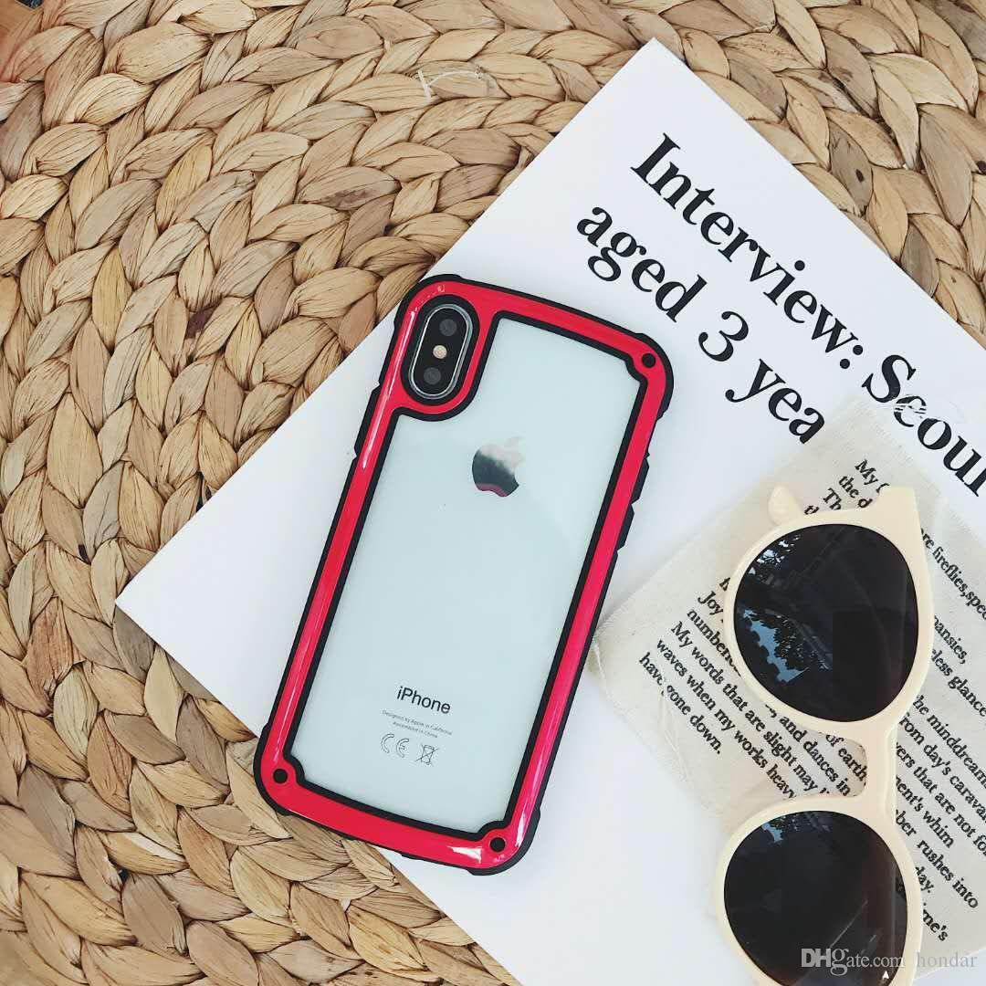 Esthetical for designer iphone cases luxury baking finished jelly tpu frame  acrylic rear phone case hybrid cellphone cover