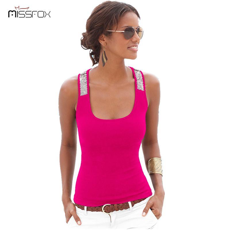 07d963fc8d3 Summer Women New Tank Tops Sleeveless Round Neck Loose T Shirt ...