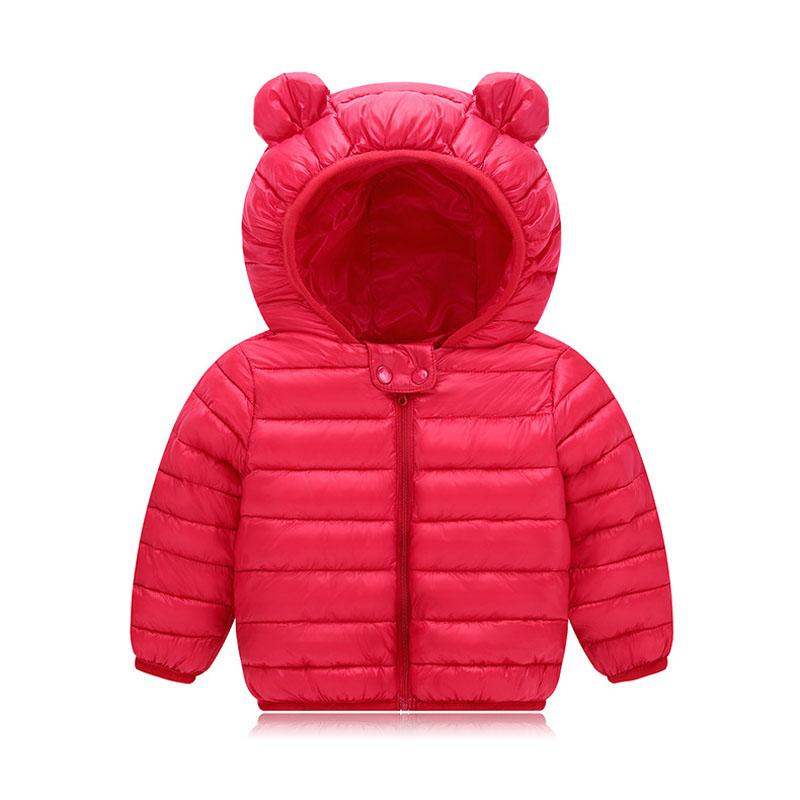 1a40884a78e0 Baby Boys Girls Parkas 2018 Winter Jacket For Girls Down Jacket Kids ...