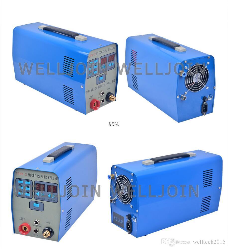 YJHB-2 Micro TIG Repair welder resistance welding machine 0 2mm thickness  welding