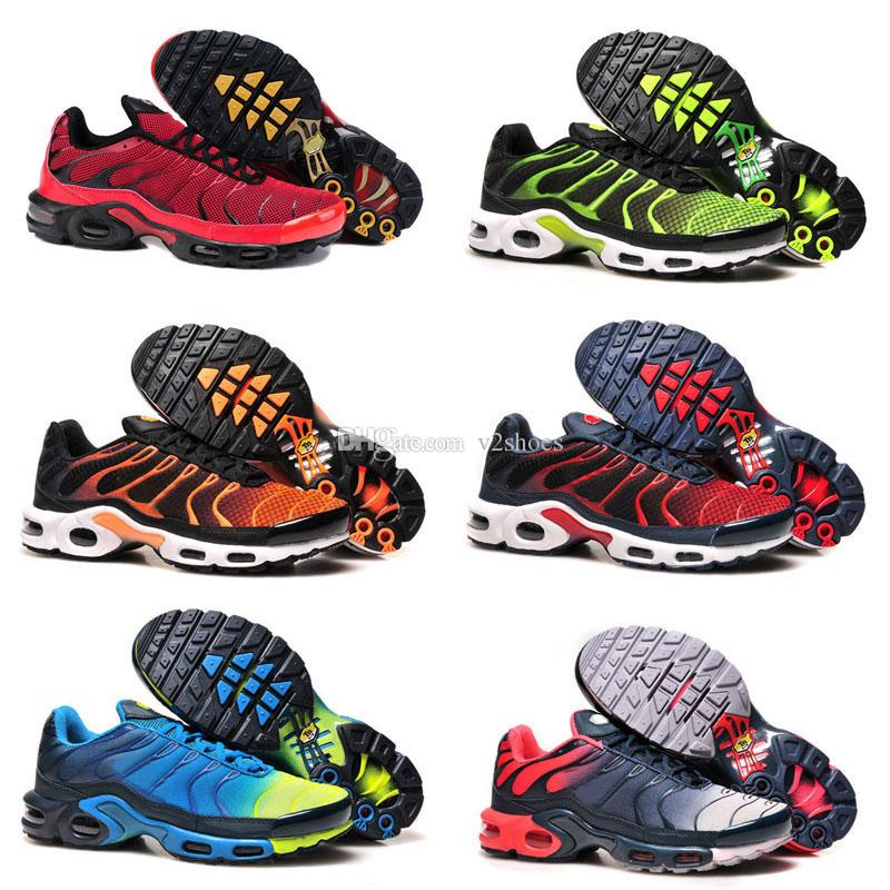 e0e340a903dd2b 2018 New Plus TN Running Shoes for Men Fashion TNS Trainers Athletic  Sneakers High Quality Fast Shipping Sports Running Shoes US7-US12 Air TN  Running Online ...