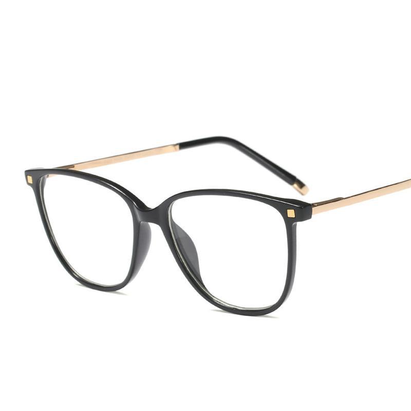 9881c91af02 2019 2018 New Square Eye Glasses Frames For Men Brand Designer Female Grade  Glasses Spectacle Frame Computer Prescription Eyewear FML From Xiacao