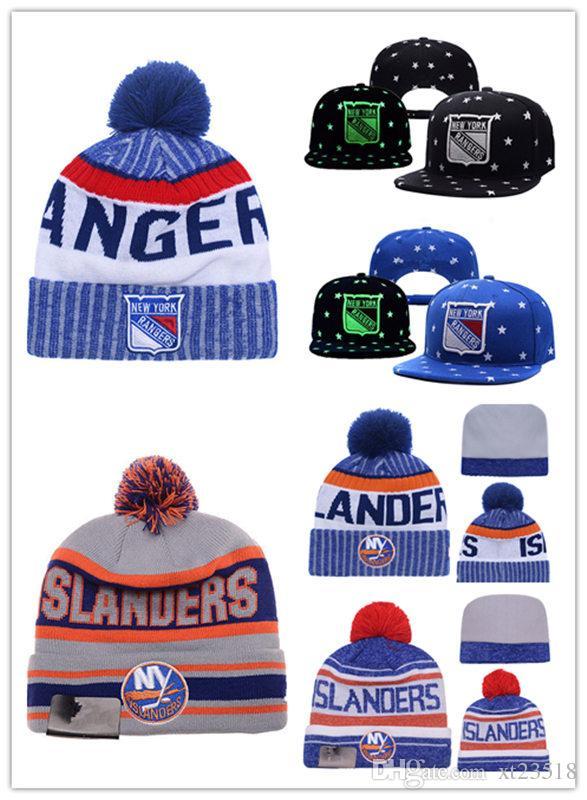 e75bc759dead4 ... spain 2018 new york rangers snapback caps adjustable hat black blue  grey new york islanders hockey