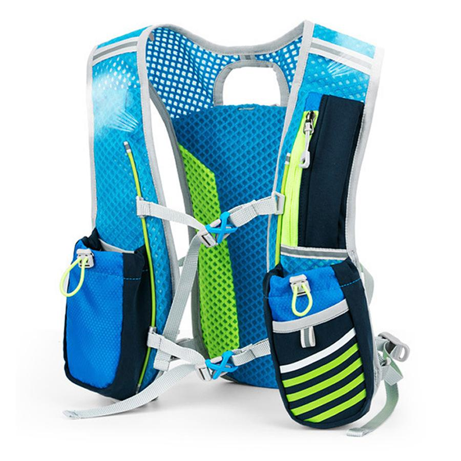 b676993682 Backpack Trail Running Men Women Lightweight Running backpack 5L Marathon  Fitness Hydration Vest Pack 1.5L Water Bag Option