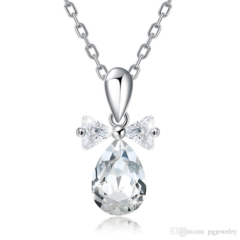 Jewelry & Watches Sterling Silver Drop Style Necklace New Moderate Price