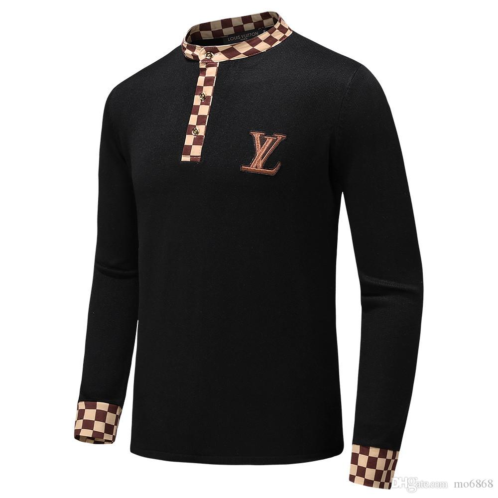 2019 New Designer Sweaters Pullovers Mens Wear Jackets And Long