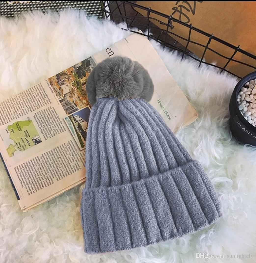 c0381954baf Harajuku Autumn Winter New Casual Thickening And Fleece Warm Knitted ...