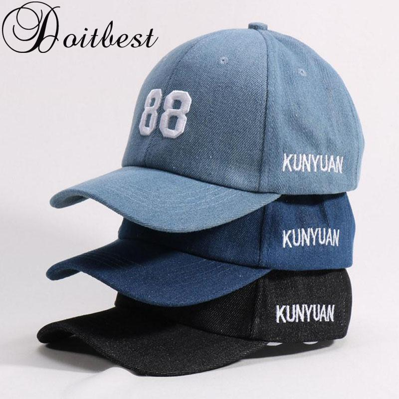 42dc7f60d 2018 Children Hip Hop Child Baseball Cap Embroidery Jeans Summer Kids  Gorras Boys Girls Snapback Caps Age For 2 6 Years Old Snapback Cap Cool Hats  From ...
