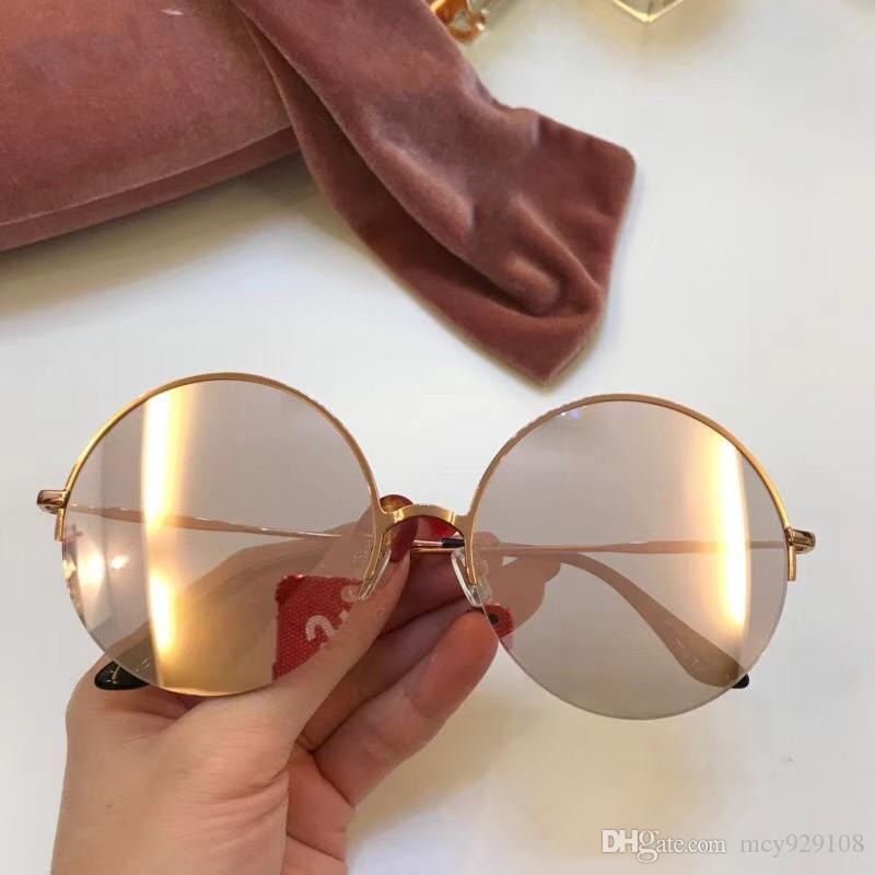 di marca occhiali da sole firmati gli uomini occhiali da sole le donne womens mens occhiali da sole degli uomini di protezione di marca del progettista occhiali da sole UV 096 con il caso