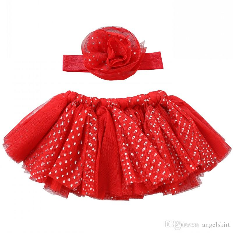 a58a9c813 2019 Newborn Baby Girls Headband Tutu Skirt Dress Costume Baby Girl ...