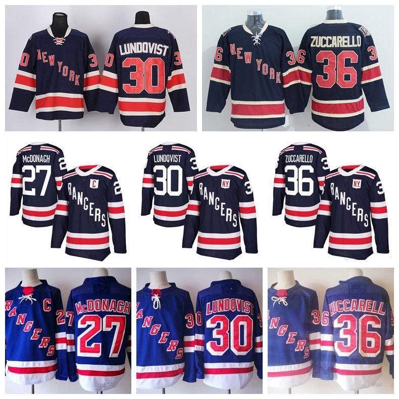 2018 New York Rangers Winter Classic Hockey Jerseys 30 Henrik ... 8481730bc