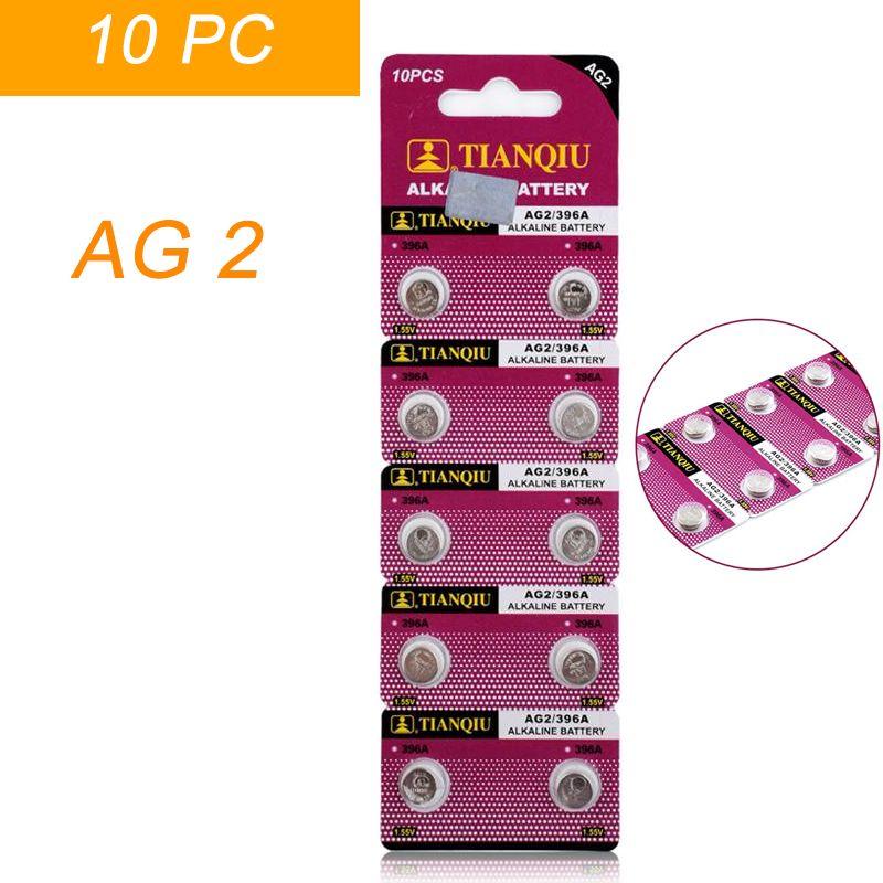 6be771adafc Compre Bateria AG2 SR726SW SR59 SG2 396 LR726 L726 Relógio Celular Botão  Batteries Alcalina Homens Mulheres Relógios De Qualitywatch