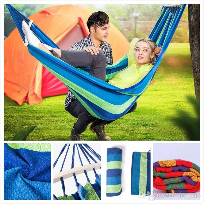 Camp Sleeping Gear Sports & Entertainment Popular Brand 260x140cm Portable Parachute Fabric Camping Hammock Hanging Bed With Mosquito Net Sleeping Hammock Outdoor Hamaca Warm And Windproof