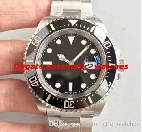 Noob завод V9 лучшее качество 904l часы из нержавеющей стали 116610  116610LV 40 мм черный