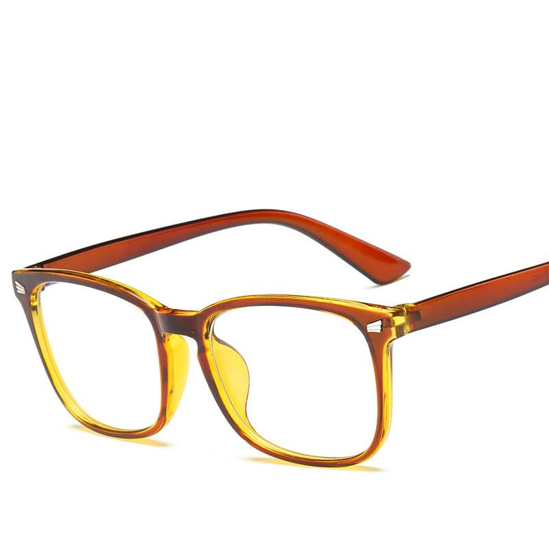 02cc88688ee Fashion Men Women Eyewear Frame Classic Vintage Retro Goggle Brand Designer  Plain Glasses Anti-Blu-ray for Computer Eyewear Frames Cheap Eyewear Frames  ...