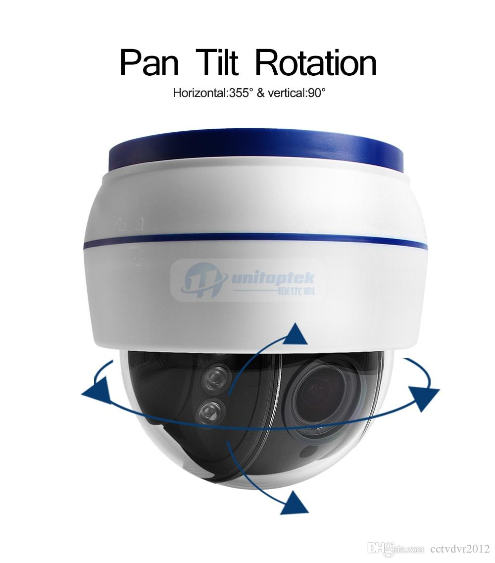 Wireless Speed Dome PTZ IP Camera Wifi HD 1080P 960P Auto Focus 5XZoom 2.7-13.5mm Indoor Audio SD Card IR Onvif P2P APP