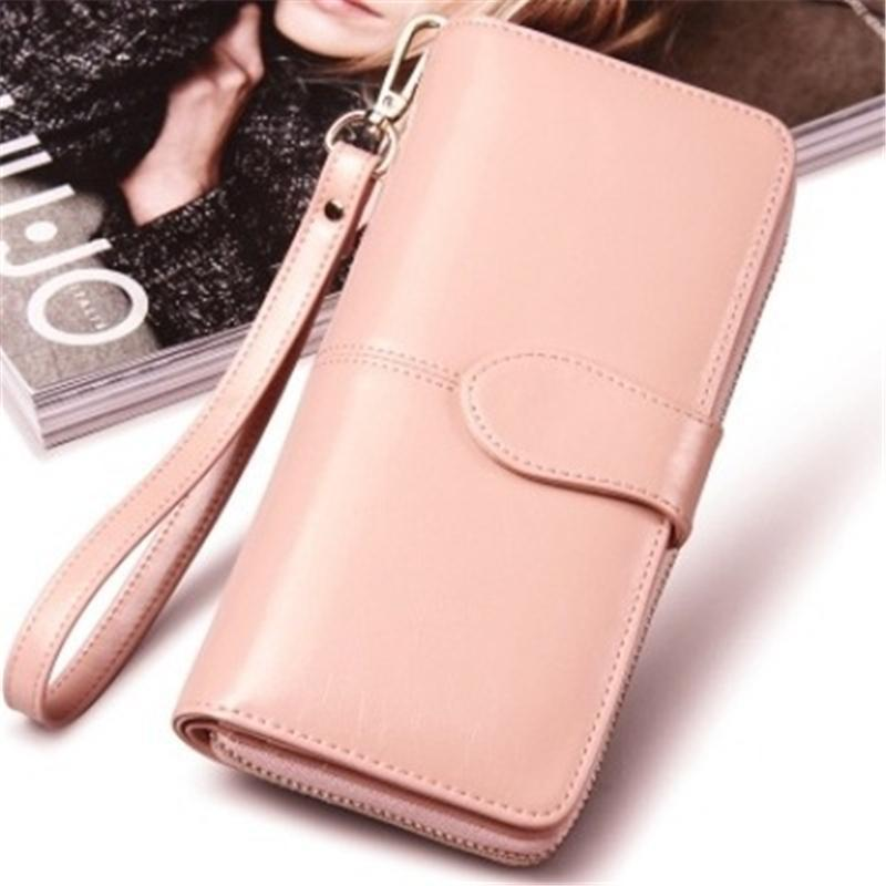 07ee648d1331d Designer Wallet Ladies Hand Clutch Bags Women PU Leather Bag Mobile Phone  Card Holder Bags Long Purse Female Wallet Casual Zipper Bag Tough Wallet  Purple ...