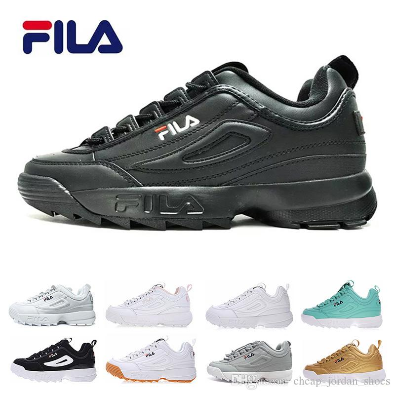 Zapatos Ii Donna 2 Uomo Nero Disruptors Bianco Fila Scarpa Acquista qHR0Z0