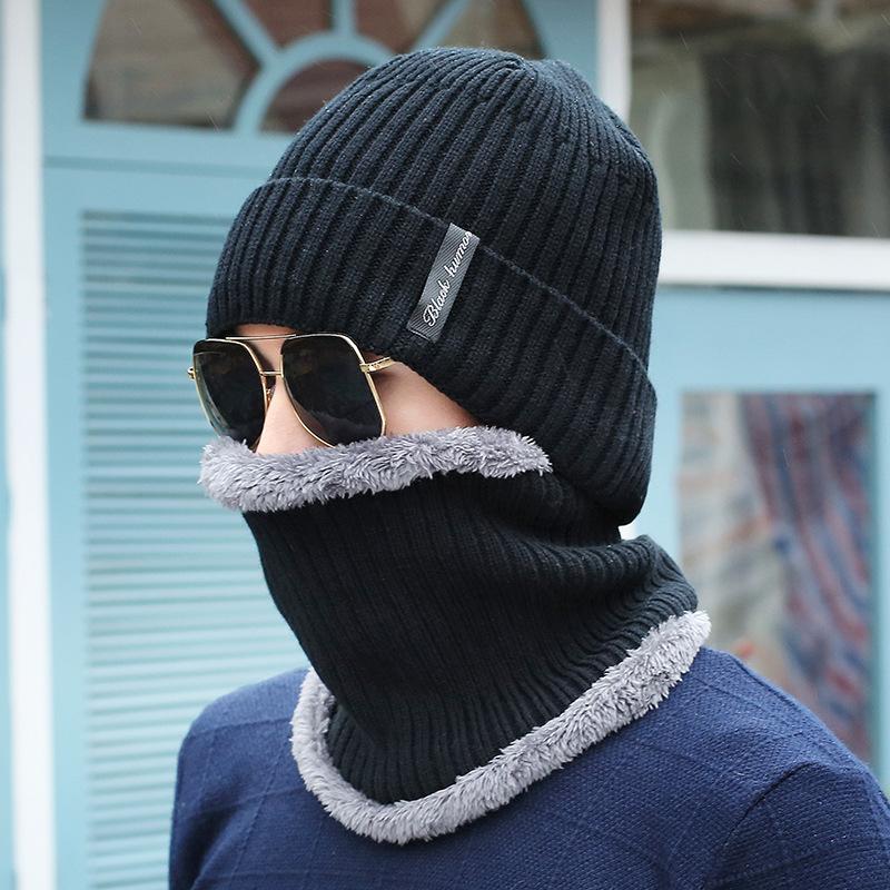 2019 Thick Winter Beanies Men Scarf Knitted Hat Caps Gorras Bonnet Baggy  Warm Winter Hats For Men Women Fleece Lined Skullies Beanies From  Teawulong b05f3baa661f
