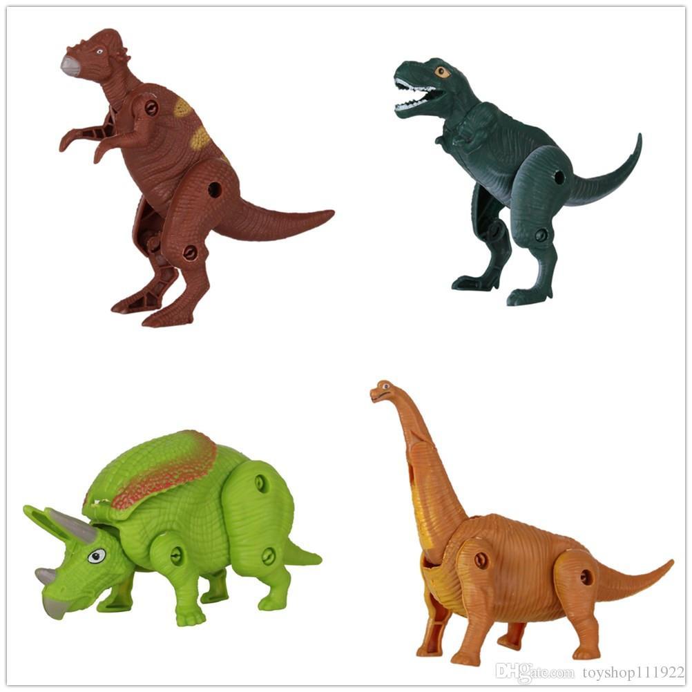 Compre Nuevos Huevos Sorpresa Muñeca Animal Dinosaur Toy Modelo ...