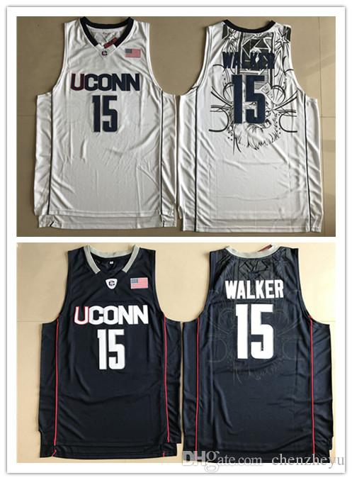 06fd89001a58 ... stitched 8b5d3 71a71  store mens ncaa uconn huskies college jersey 15  kemba walker white navy blue basketball jerseys uconn