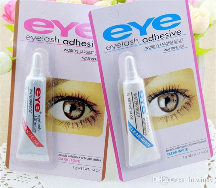 98ca6f1480c Eye Lash Glue Black White Makeup Adhesive Waterproof False Eyelashes ...