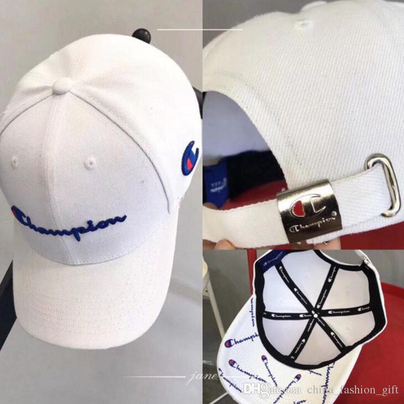 aac78fdb1e7 Champ Baseball Caps Tide Brand Hip-Hop Snapbacks Top Quality Golf  Skateboard Caps White Black Outdoor Sports Hats Champ Baseball Caps Hip-Hop  Snapbacks Golf ...