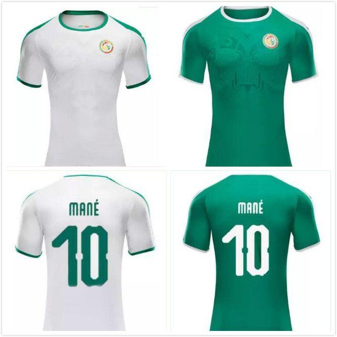 Compre Frete Grátis Senegal Copa Do Mundo De Futebol Jersey 2018 Casa  Branca 10 MANE 2019 Futebol Shiirts Camiseta De Futebol 18 19 Futebol  Desgaste Jerseys ... c08e18019869d