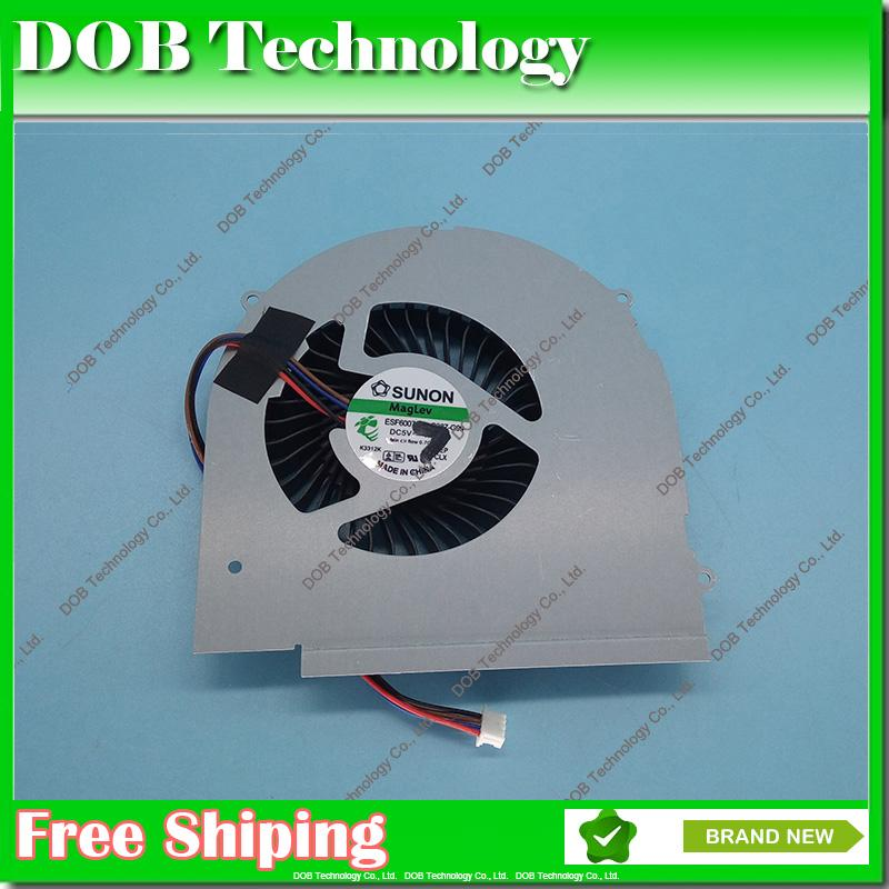 Laptop CPU Cooling Fan for Lenovo Y580 Y580M Y580N Y580NT 580A Y580P  KSB0805HC 4 PIN Notebook cpu cooler fan controller heatsink