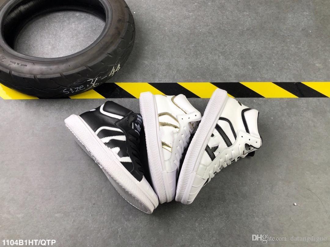 the best attitude cc789 4f981 Compre Adidas Varial Mid Superstar SheAlta Calidad Shell Head High Top  Casual Skateboarding Chaussure Diseñador De Moda De Lujo Mujer Zapatillas  De Deporte ...