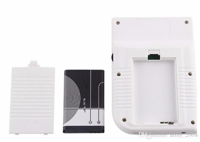 Mini console de jeu portable RS-6 8 bits Station de jeu portable rétro RS6 avec écran LCD