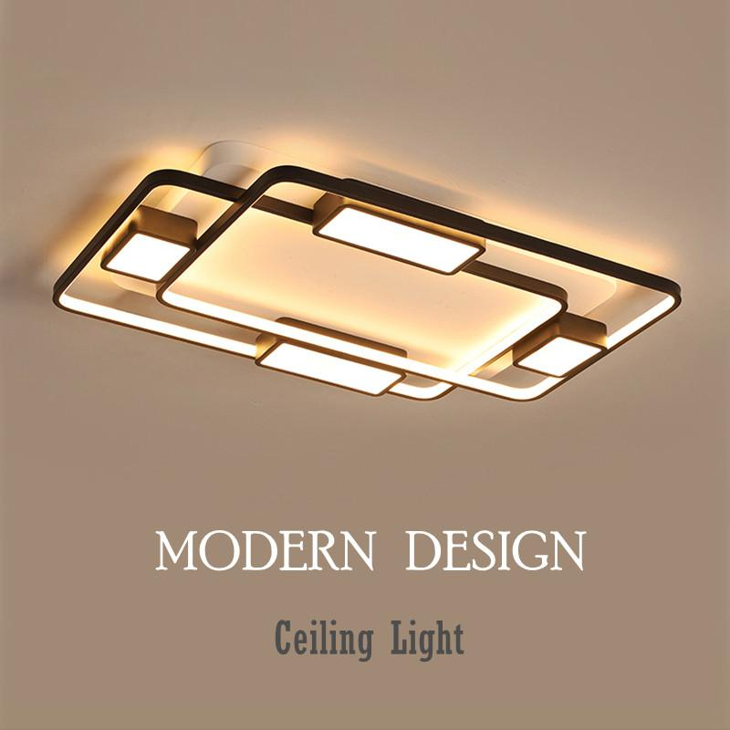 cheap ceiling lighting entryway modern led ceiling lights for homes living room bedroom indoor lighting square lamp dimmable luminaria light fixtures cheap