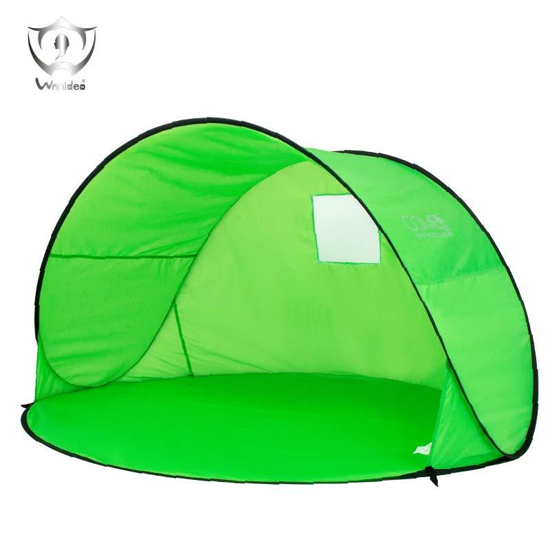 new styles fe92a 77606 Automatic Pop Up Instant Portable Outdoors Beach Tent Sun Shelter Cabana  with Carry Case ZH