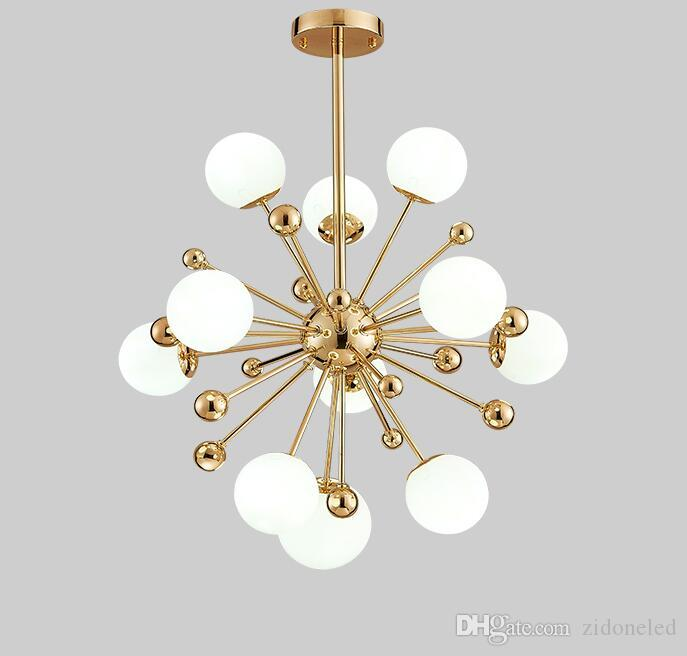 Lights & Lighting Italian Design Swing Arm Glass Ball Chandelier Lighting For Kitchen Bar Modern Hanging Lamp Living Room Decoration Light Fixture