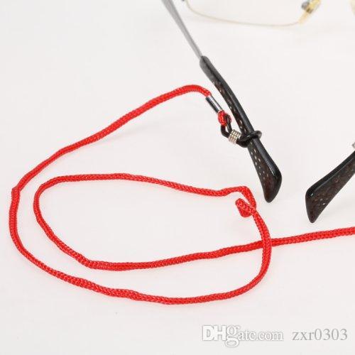 12 шт. / лот нейлон очки строка кордон люнеты Chaines стрейч солнцезащитные очки цепи веревка очки шнуры цепи очки аксессуары