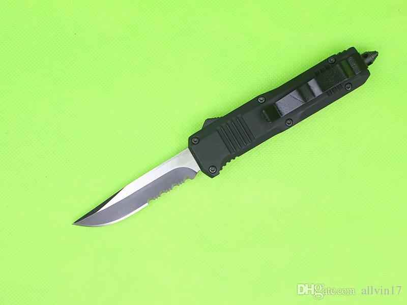 Butterfly C07 Auto Tactical Knife 7 Модель Дополнительные лезвия EDC Карманный нож Открытый Отдых Туризм Нож выживания Специальная ссылка для Криса