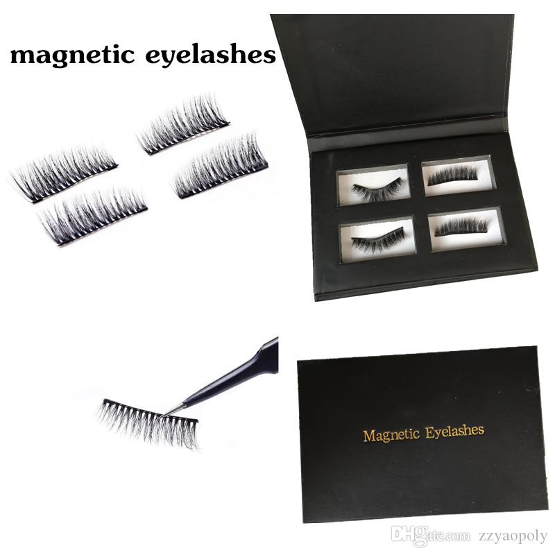 1897aa5bc69 Yaopoly Magnetic Eyelashes Handmade 3D Mink Magnetic Lashes Natural False  Eyelashes Magnet Lashes With Gift Box Private Label 3d Mink Lashes Eye Lash  ...