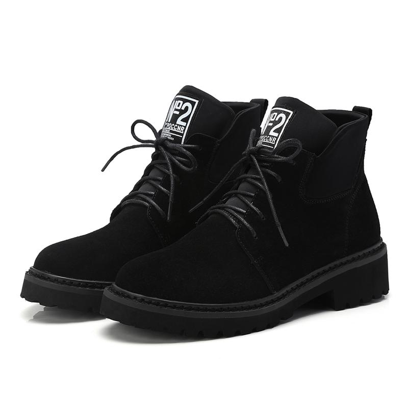 de4041b43b11 Hot Sale Womens Girls Fashion Boots Shoes Lace Up Ankle Jump Martin Boots  B827 US UK Size Customized Buy Shoes Online Suede Boots From Wholesale0086
