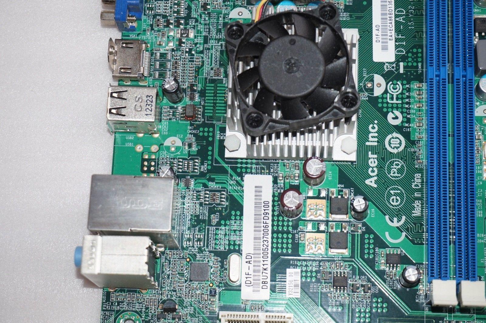 Бесплатная доставка CHUANGYISU для системной платы X1430, D1F-AD V: 1.0A ITX плата 15-Y32-011010, APU E350 DDR3, отлично работает