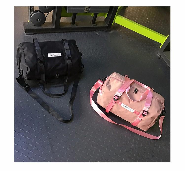 2f661bc469 Pink Duffle Plain Beach Bags Unisex Travel Luggage Large Women Shoulder  Satchel Handbag Men Duffel Bags Sport Outdoor Packs Gym Bags Wheeled  Backpacks ...