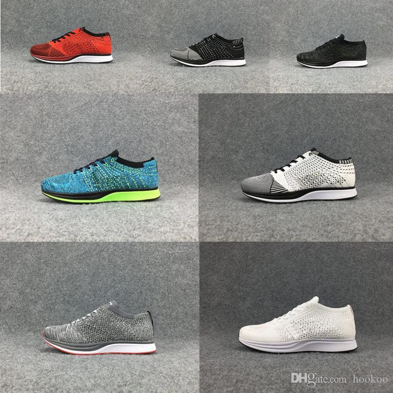 Calidad Alta Para Deportivos Zapatillas Transpirable De Moda Mujeres Nike Los HombresZapatos Tranier Racer 2018 Free Run Running Flyknit xQhtrdCs