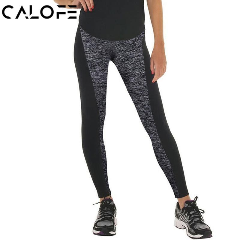 51e8394fb37e5 2019 High Waist Leggins Sport Women Yoga Pants Fitness Slim Running Tight  2018 Jogger Pants Femme Gym Leggings Athletic Plus Size 3xl From Teawulong,  ...