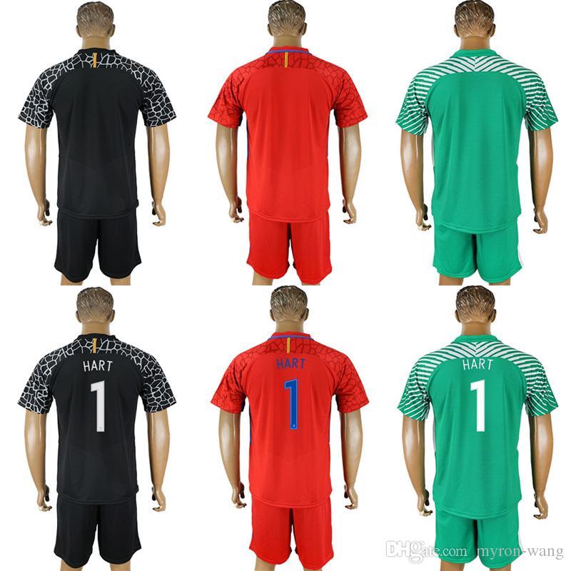 2019 Men 2018 Season England Soccer Jerseys 1 Hart Any Name Blank Green  Black Red Goalkeeper Shirts Football Uniform Adult Size From Myron Wang 8bffb0690