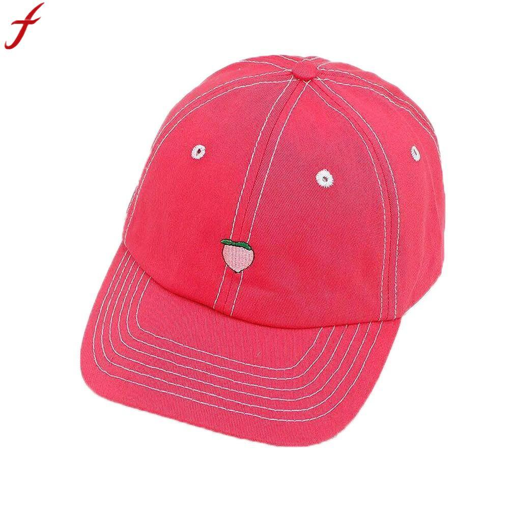 4652aaac504 2018 New Arrival Spring Summer Leisure Fresh Fruit Embroidery Hat For Women  Men Adjustable Baseball Hat Dad Cap Hats Hats Online Cap Online From  Heathere