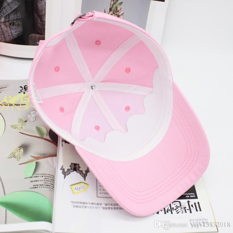곡선 모자이크의 처마 반짝 이는 다이아몬드 자수 야구 모자 커플 야외 모자 봄 여름 태양 모자