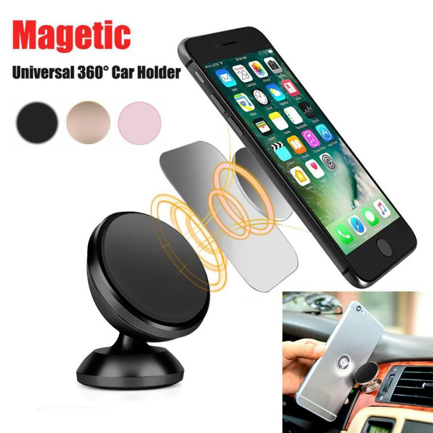 new york 2cd45 35895 Car-styling Universal Cell Phone GPS Mobile Car Magnetic Dash Mount Holder  For iPhone 6 plus Jun5