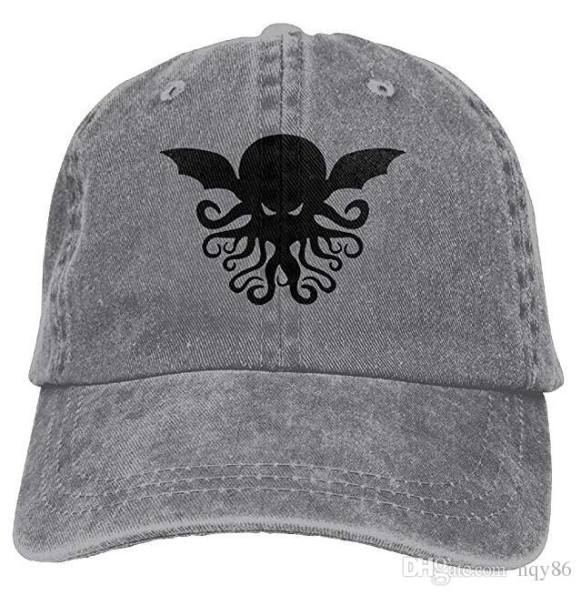 30a17396e1a8d3 Cool Cthulhu Adult Cowboy Hat Baseball Cap Adjustable Athletic Custom Best  Graphic Hat For Men And Women Hat Store Ny Cap From Hqy86, $10.46|  DHgate.Com