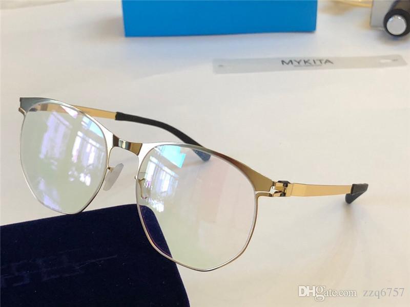 363add8bb9c07 Compre Nova MYKITA Óptica Óculos 1765 Quadro Com Espelho Lente Ultralight  Frame Memory Alloy Homem E Mulheres De Grandes Dimensões Lente HD Com Caixa  De ...